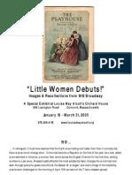 Little Women Play debut