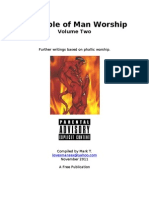 Bible of Man Worship, Volume 2 (MS Word)