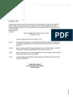 Nov. 22, 2011 North Adams City Council Agenda