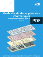 Guide Audit Applications