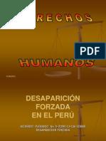DESAPARICIÓN FORZADA 1