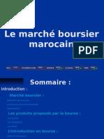 Le marché boursier marocain