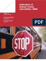 SCHOOL CRIME AND SAFETY. 2004