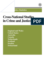 CROSS-NATIONAL STUDIES IN CRIME AND JUSTICE