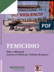 FEMICIDIO Dati e Riflessioni Intorno Ai Delitti Per Violenza Di Genere