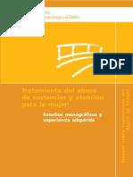 ESTUDIO TRATAMIENTO ABUSO DE DROGAS.MUJER. 116 PGAS