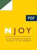 NJOY Brochure 5-2008