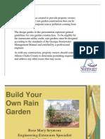 Georgia Rain Garden Manual