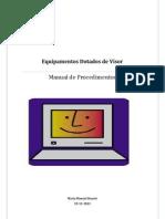Manual de EDV's