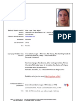 CV Tiago EuroPass Actualizado