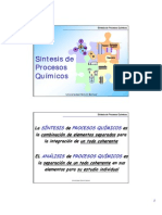 Sintesis de Procesos Quimicos ParteA