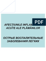 Tema 16.Afect. Inflam. Acute Pulmonare