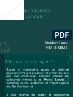 Project Exports Contracts Mine