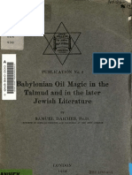 Babylonian Oil Magic