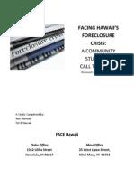 Facing Hawaii's Foreclosure Crisis