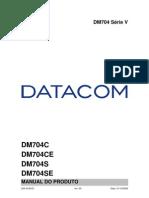 204-0109-03 - Manual Do Produto - Familia DM704 Serie V