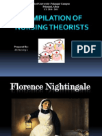 Compilation of Nursing Theorists