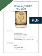 III Jornadas de Religion y Poder-UNSa 2011