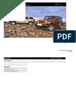 Jeep My Wrangler Tekniska Specifikationer