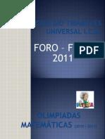 Foro_y_Feria 2011