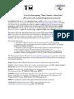 MoreTransit=MoreJobs - National Media Advisory (Sept 2, 2010)