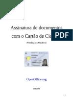 Assinatura Eletronica - Open Office