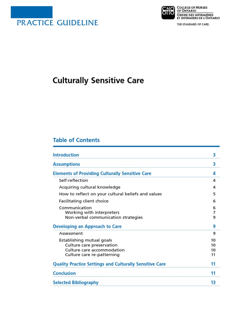 cultural sensitive care essay Intercultural communication between patients and health care providers: an exploration of intercultural communication effectiveness, cultural sensitivity, stress, and anxiety  this study endeavors to show that culturally sensitive health care providers are indeed better communicators in addition, the relations among cultural sensitivity.