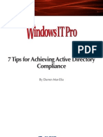 7 Tips for Achieving Active Directory Compliance