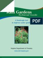 Virginia Rain Gardens Technical Guide