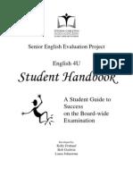 ENG 4U Exemplar Handbook