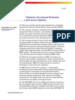 BRIC Investing Report