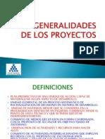 Generalidades Proyectos
