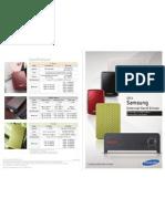 External HDD Leaflet