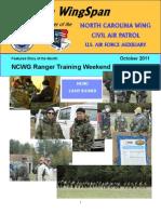 North Carolina Wing - Oct 2011