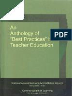 Best Practice in Teacher Education