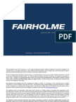 Fairholme Stays the Course