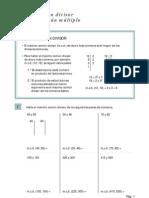 Maximo Comun Divisor y Minimo Comun Multiplo