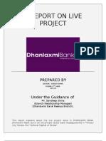 Live Project -dhan laxmi