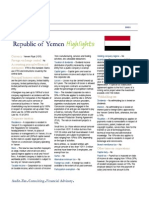 @Deloitte #Yemen Highlights - Tax & Duties 2011