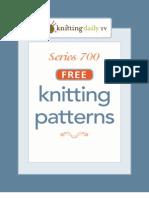 700 KDTV Knitting Patterns