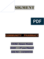Assigment Prescription
