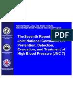 Hypertension guideline