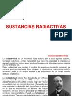 SUSTANCIAS RADIACTIVAS