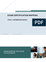 CCNA1 Exam Mapping