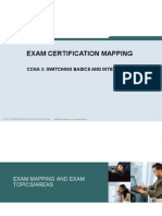 CCNA3 Exam Mapping