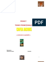 Tehnici Promotion Ale - Cafea Jacobs``
