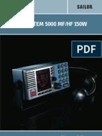 Sailor System 5000 Mfhf 150w User Manual