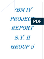 FBM IV SY II GROUP 5