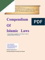 Compendium of Islamic Laws