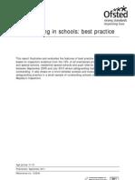 DfE 2011 Safeguarding Best Practice